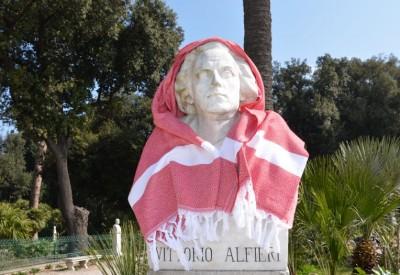 alfieri und das türkische Hamamtuch