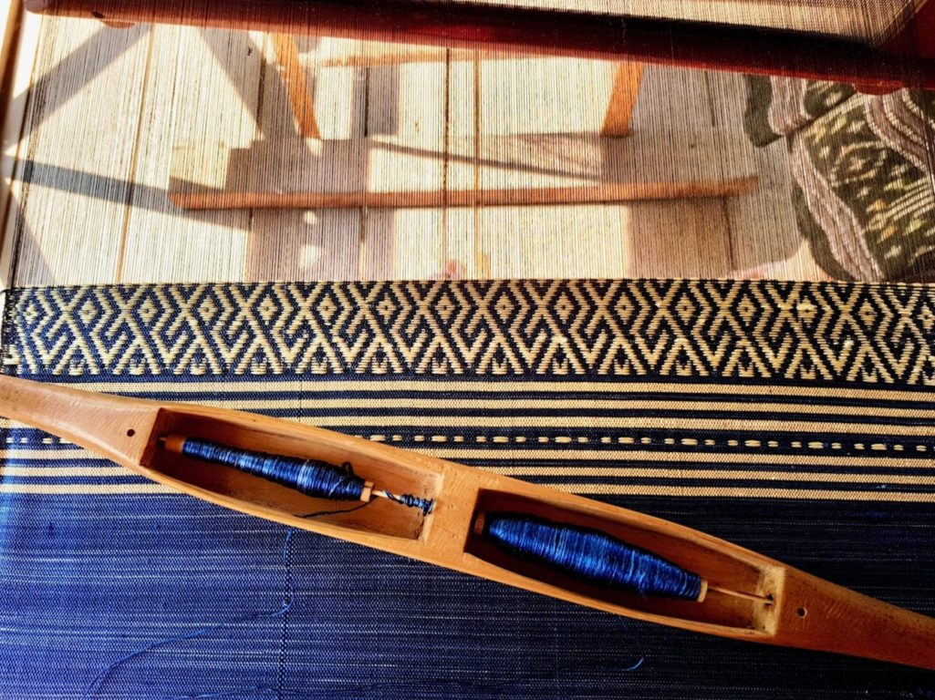 The Art of Weaving in Laos